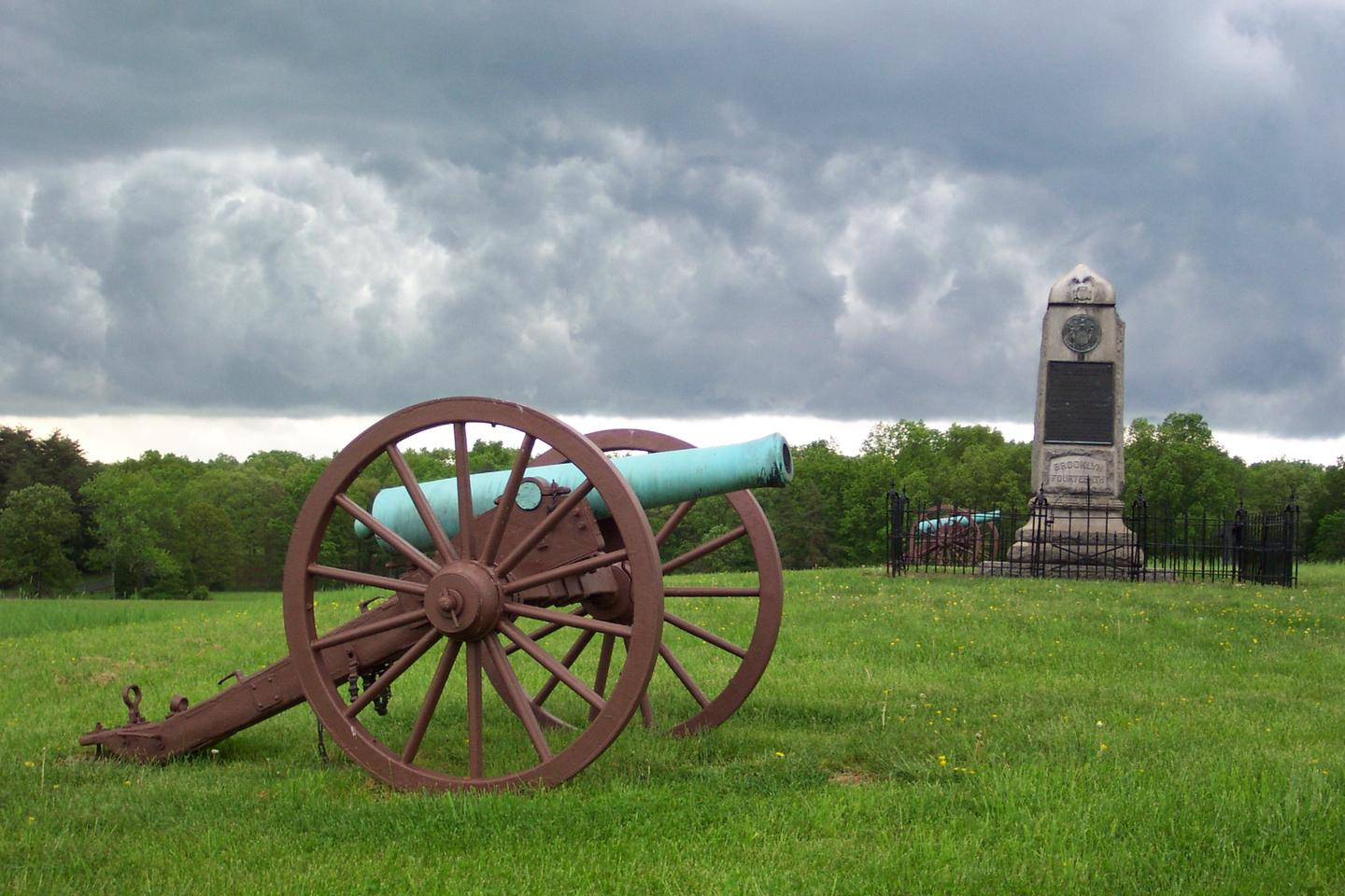 14th Brooklyn MonumentThe 14th Brooklyn Monument overlooks the scene of heavy fighting near Groveton during Second Manassas.