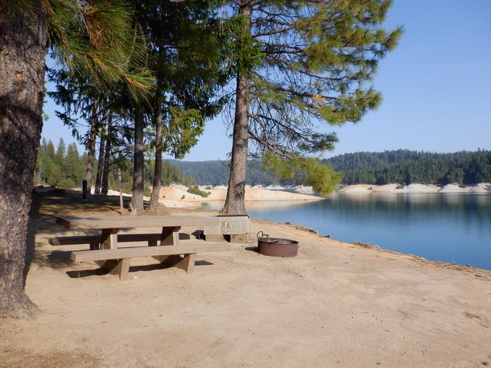 Beach by Campground