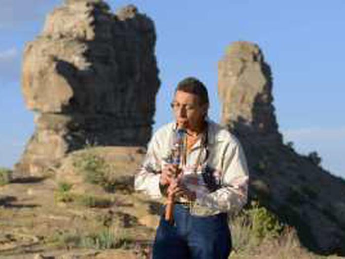 Charles Martinez at Chimney Rock