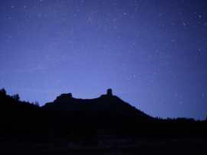 Night Sky at Chimney Rock