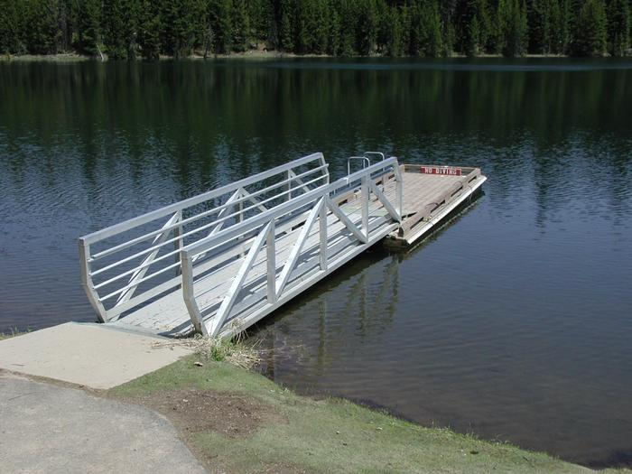 Jubilee Lake Boat Dock