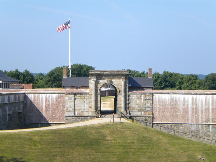 Entrance to Fort WashingtonFort Washington Entrance
