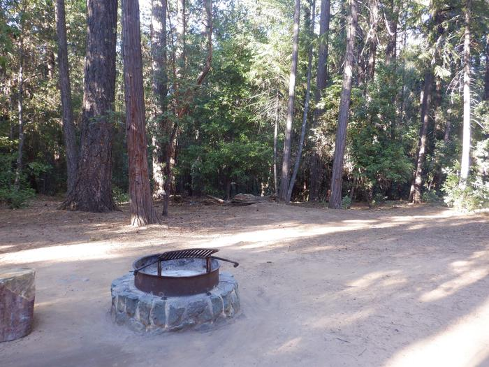 School House Site 40 DoubleTent pad and fire ring