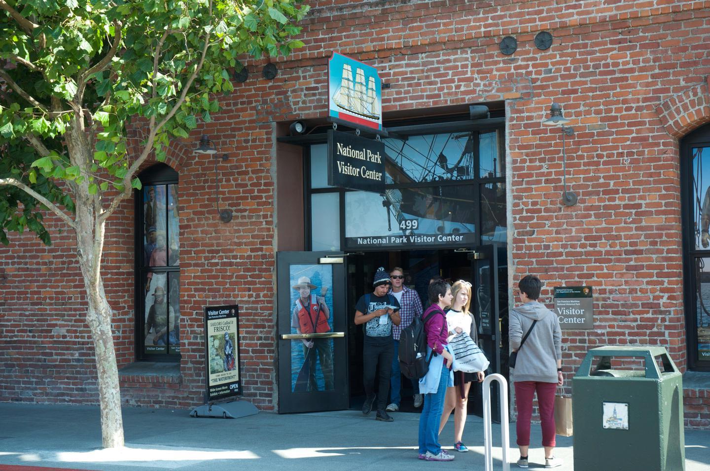 San Francisco Maritime NHP Visitor Center Entrance