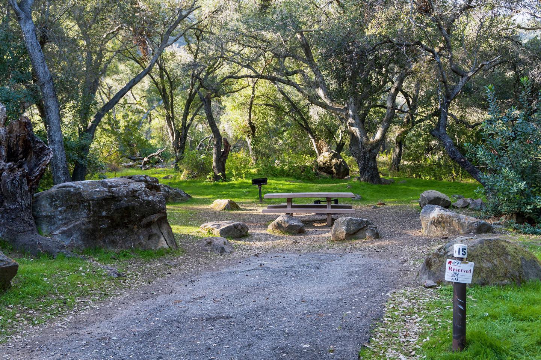 Los Prietos Site 15
