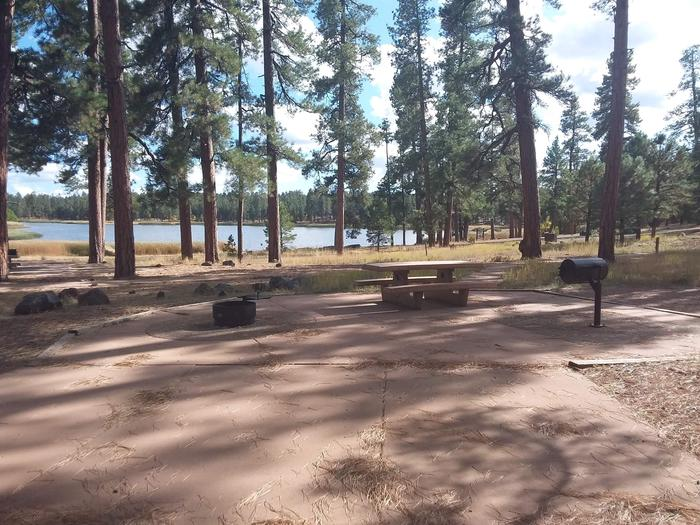 paved campsite with view of lakesite 061