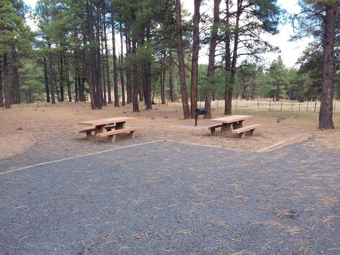 gravel site with two picnic tablessite 075