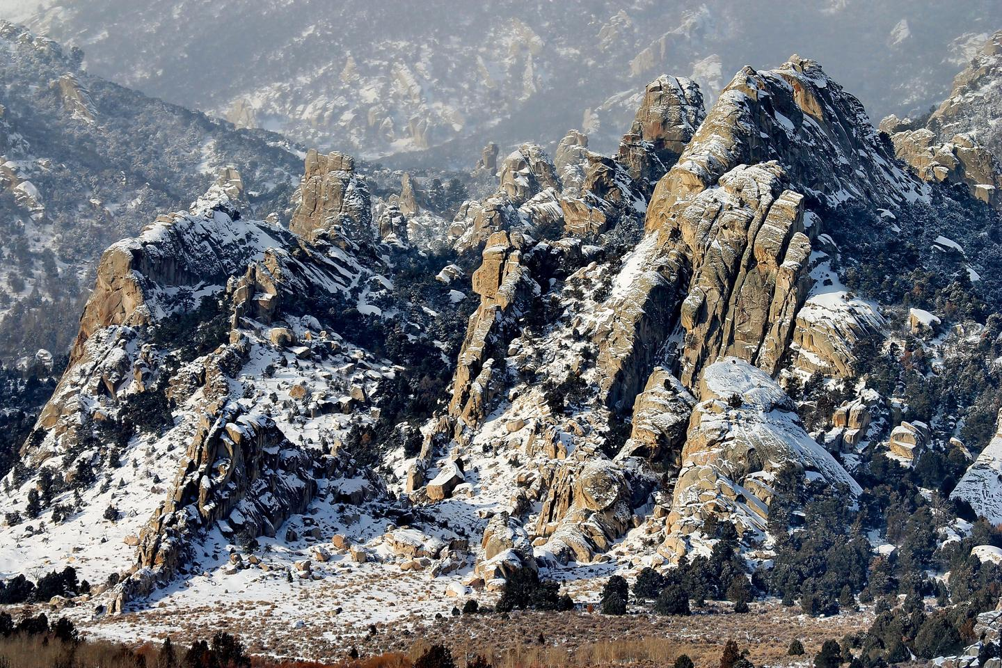 Silent City of RocksWinter is a great time to experience quiet and solitude in City of Rocks.