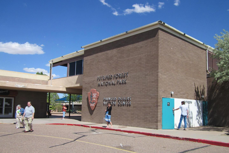 Painted Desert Visitor Center Entrance