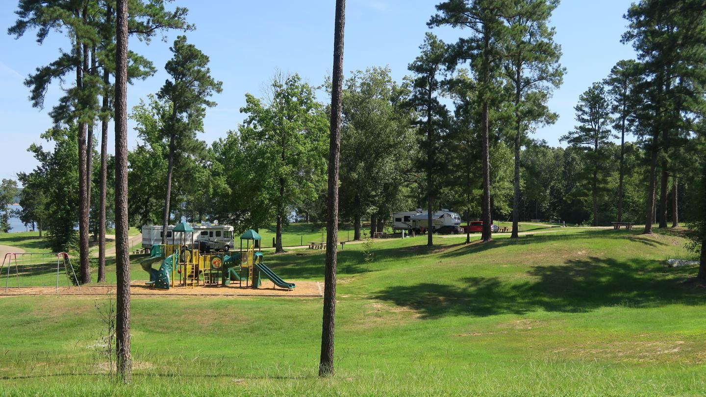 Playground and campgroundPlayground