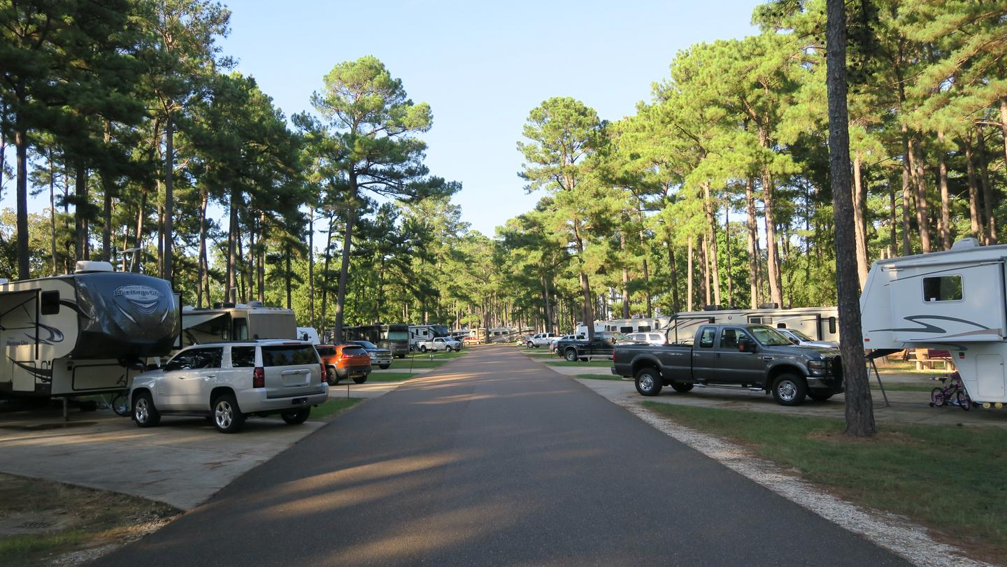 Entrance to campgroundPersimmon Hill Campground
