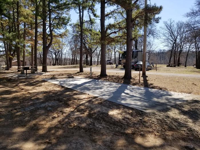 Porum Landing Campsite #49Campsite 49