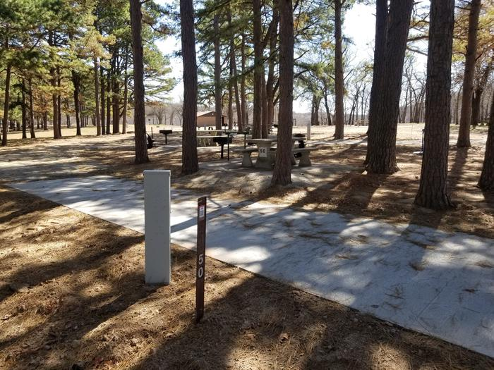 Porum Landing Campsite #50Campsite 50