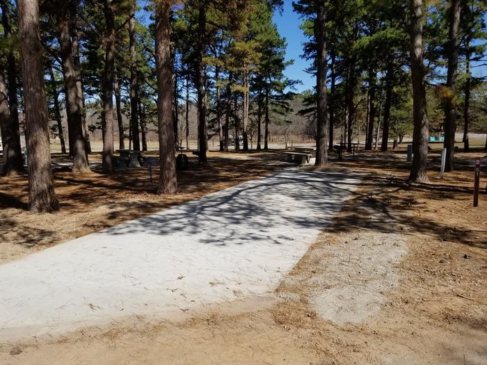 Porum Landing Campsite #51Campsite 51