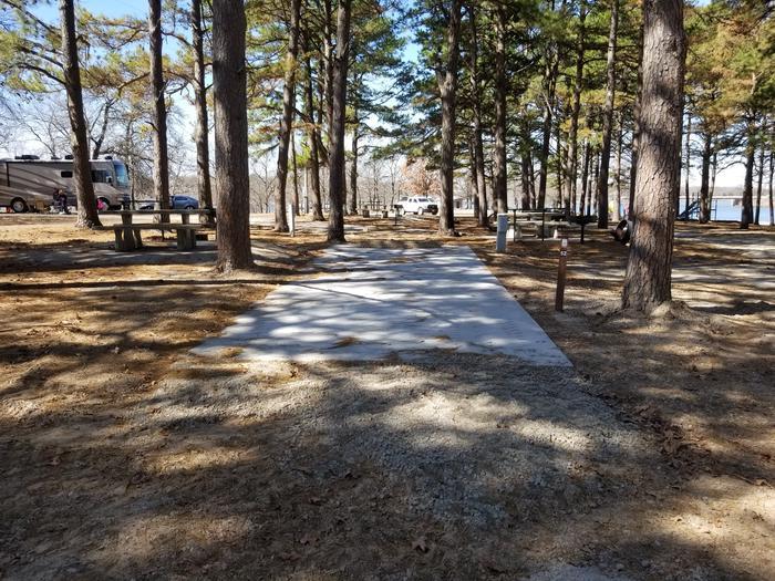 Porum Landing Campsite #52Campsite 52
