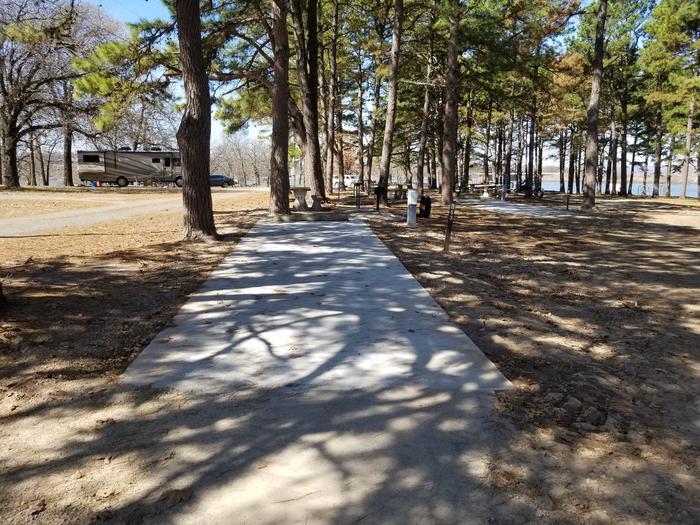 Porum Landing Campsite #53Campsite 53