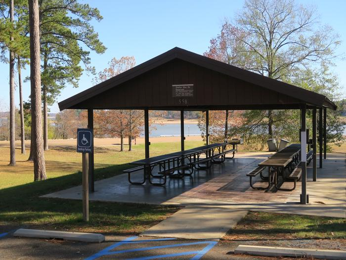 Pavilion 558Picnic Shelter 558