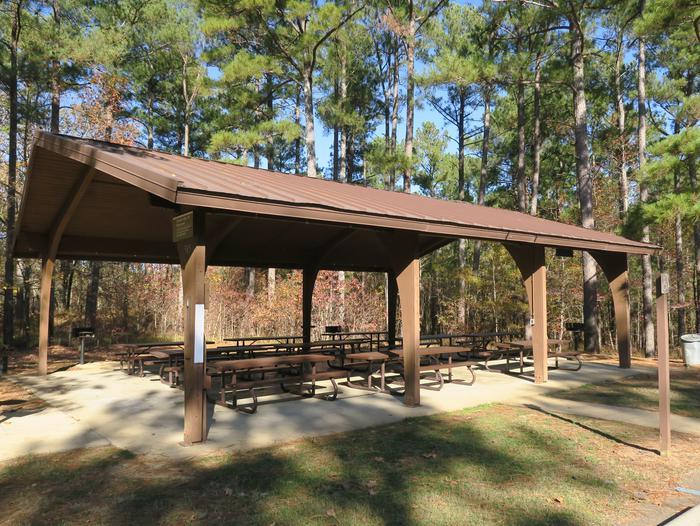 Pavilion 585 (behind comfort Station)Picnic Shelter 585