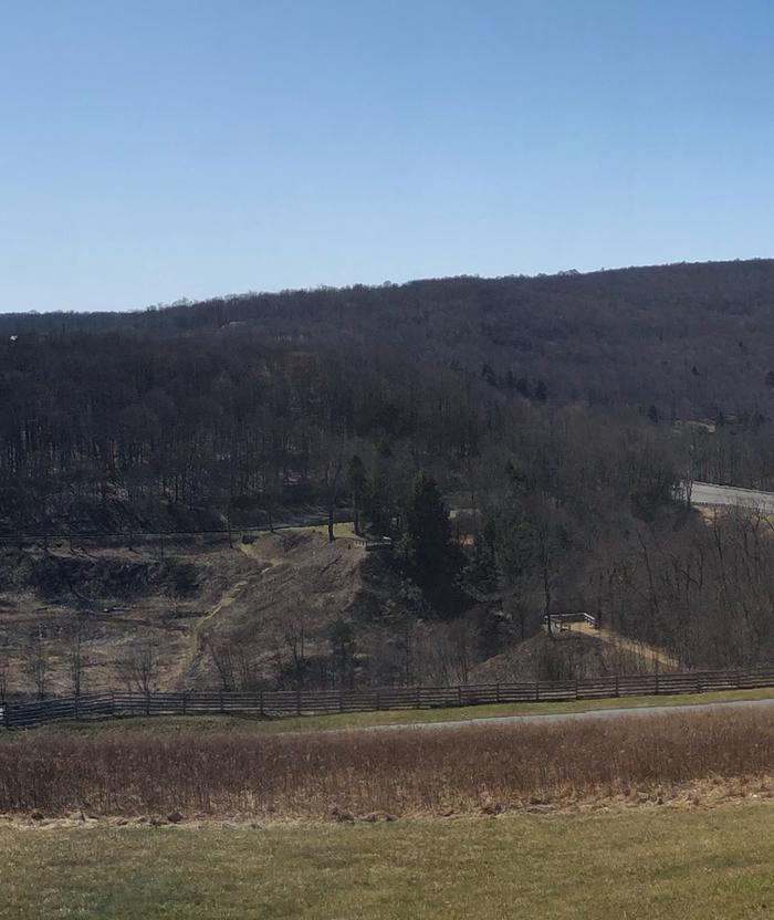 The remains of the South Fork Dam