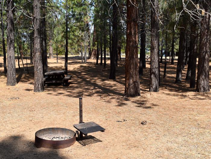Site #7Aspen Grove Campground, Site #7