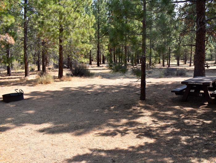Site #13Aspen Grove Campground, Site #13