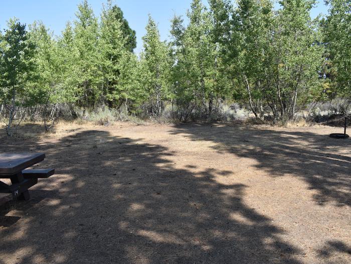 Site #14Aspen Grove Campground, Site #14