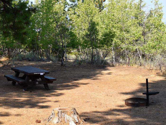 Site #15Aspen Grove Campground, Site #15