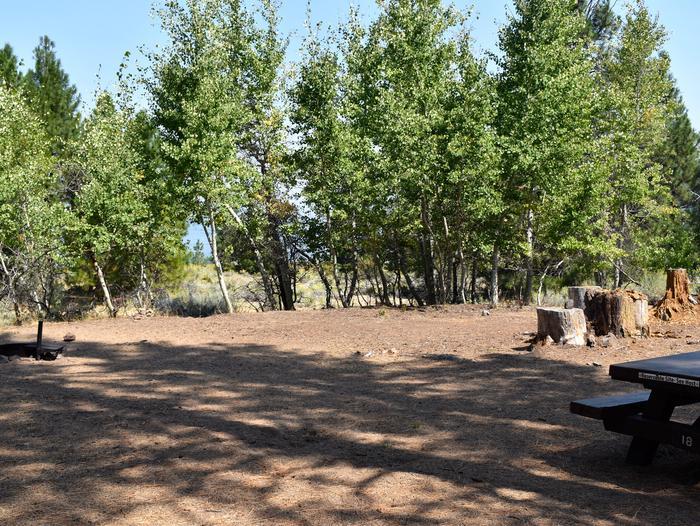 Site #18Aspen Grove Campground, Site #18