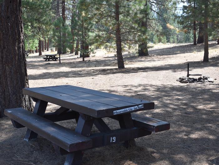 Site #19Aspen Grove Campground, Site #19
