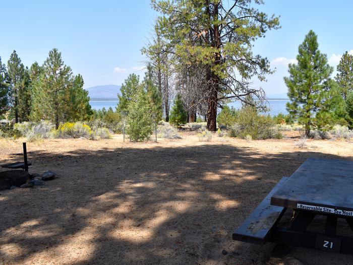 Site #21Aspen Grove Campground, Site #21