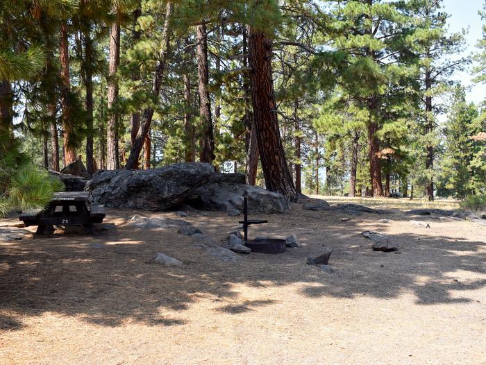 Site #25Aspen Grove Campground, Site #25