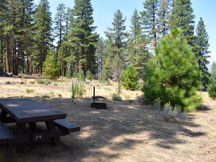 Site #24Aspen Grove Campground, Site #24