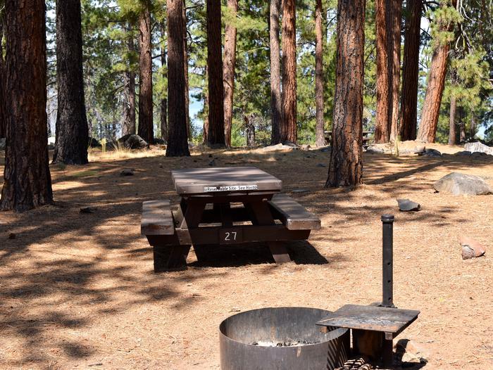 Site #27Aspen Grove Campground, Site #27