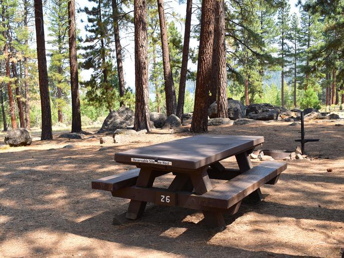 Site #26Aspen Grove Campground, Site #26