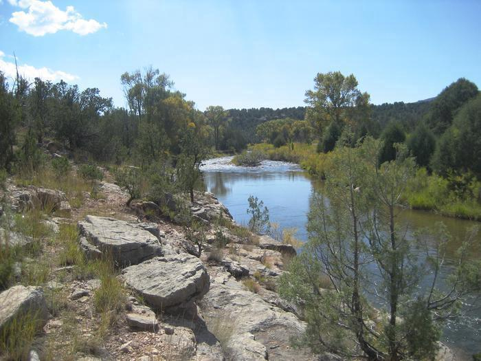 Pecos RiverThere are three fishing seasons at Pecos National Historical Park--always popular with anglers.