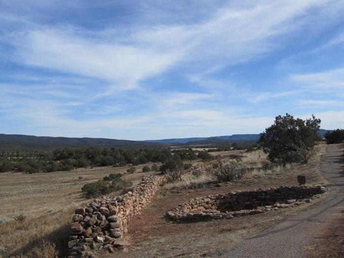 Partially Excavated KivaView from Ruins Trail