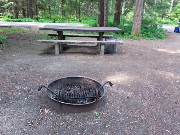 Yaak River Site 4 -fire ring