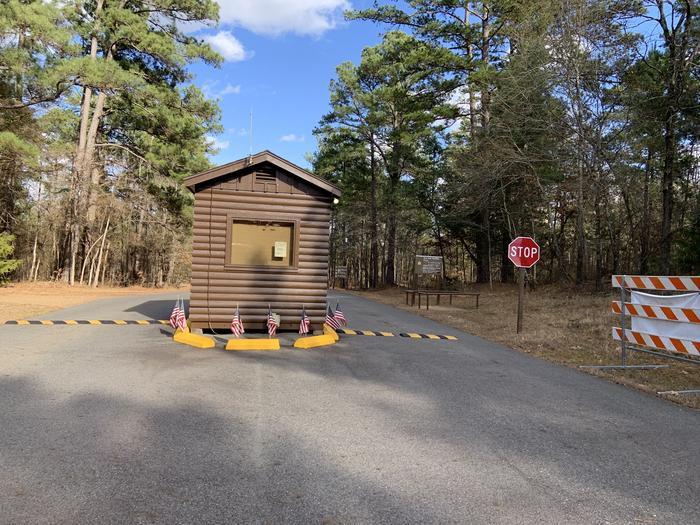 Brushy Creek Day Use Gate House