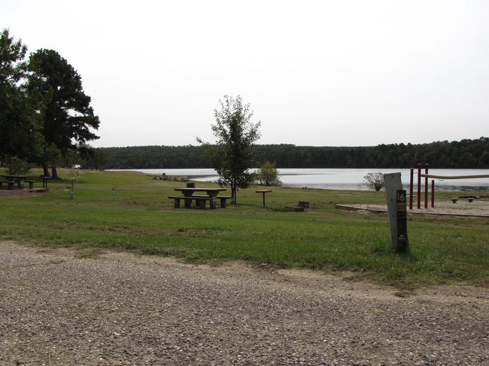 Campsite # 16Self Creek campsite # 16