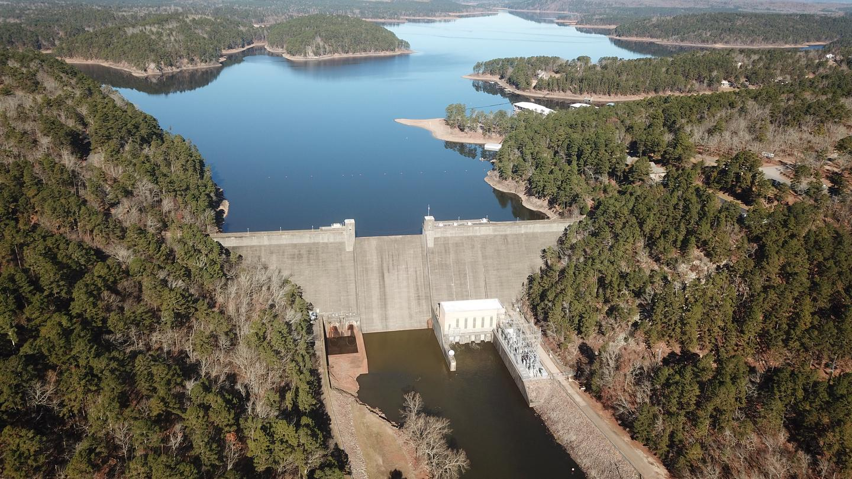 Narrows Dam, Lake Greeson ARLake Greeson