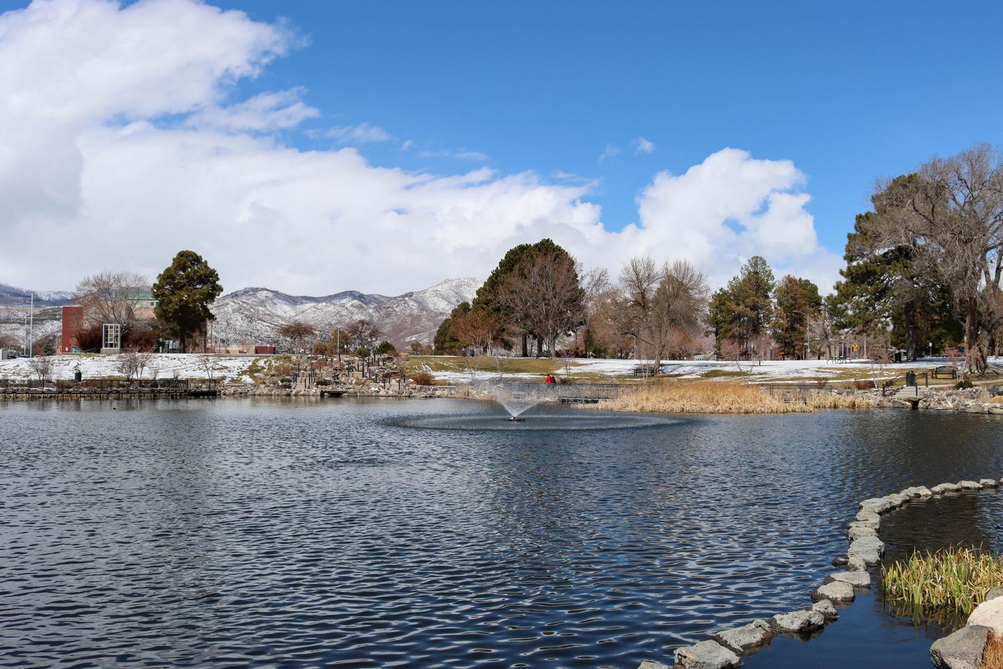 Ashley PondAshley Pond has been a central part of the Los Alamos community since the days before the Manhattan Project.