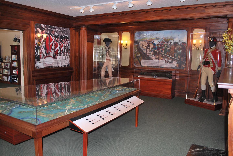 North Bridge Visitor Center Exhibits