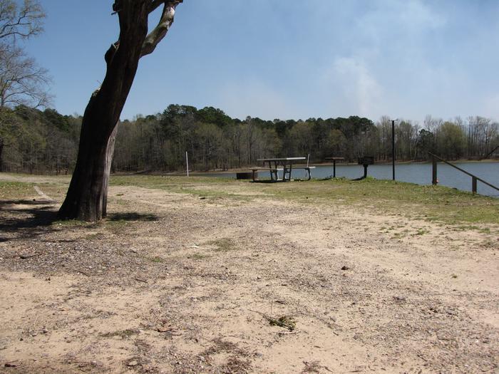 Campsite # 16Kirby Landing campsite # 16