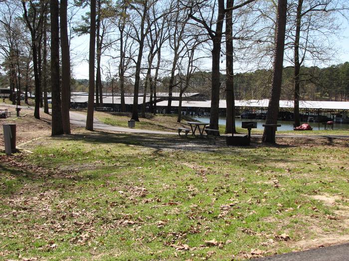 Campsite # 7Kirby Landing campsite # 7