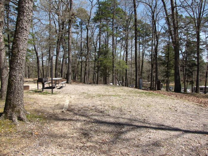 Campsite # 6Kirby Landing campsite # 6