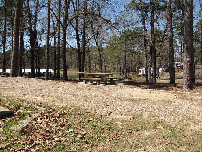 Campsite # 21Kirby Landing campsite # 21