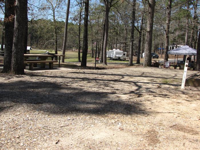 Campsite # 29Kirby Landing campsite # 29