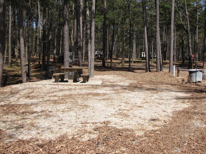 Campsite # 35Kirby Landing campsite # 35