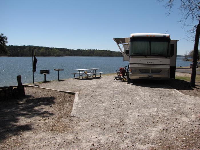 Campsite # 39Kirby Landing campsite # 39