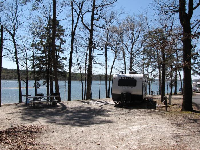 Campsite # 41Kirby Landing campsite # 41